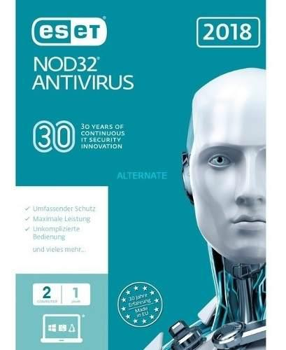 Antivirus eset nod32 edición 2019 3 pc presentación caja
