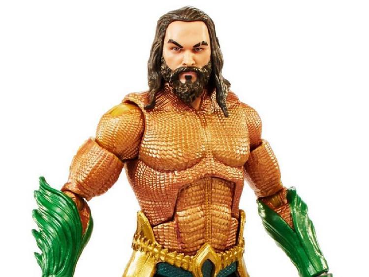 Aquaman verdadero se mueve mera figura DC Comics juguetes para 3 años