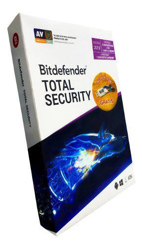 Bitdefender total security multi device 2019 5 dispositivos