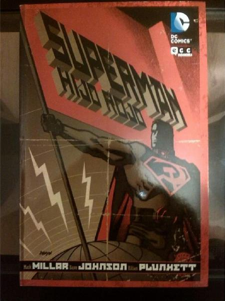 Comic superman dc: hijo rojo red son editorial ecc