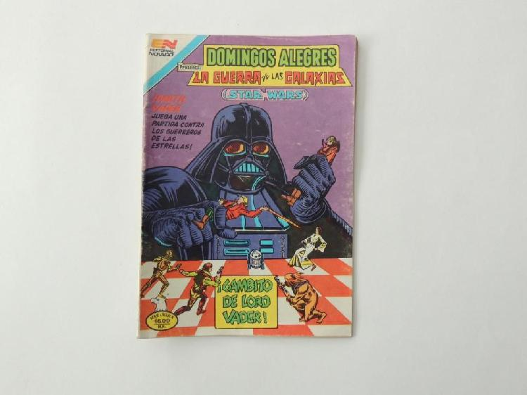 Comic novaro mexico de 1982 star wars
