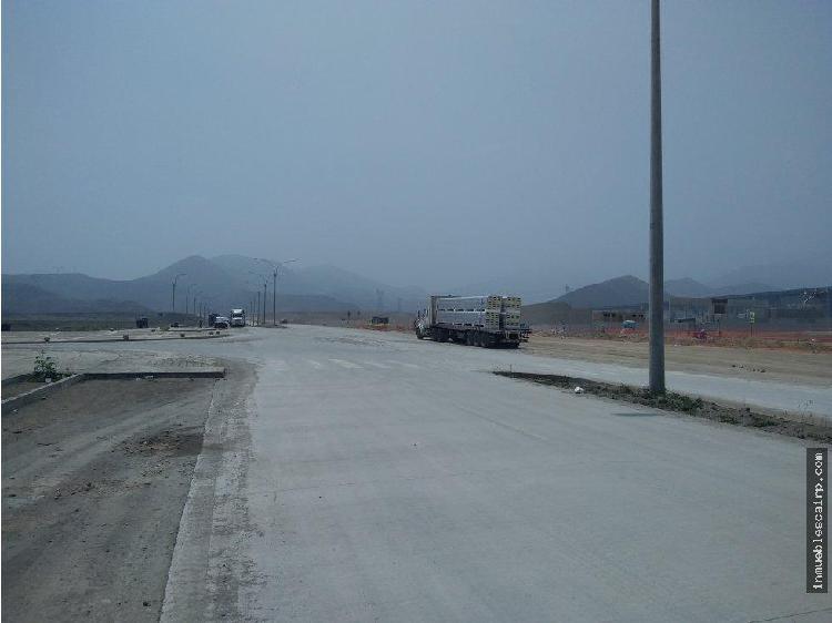 Inversión terreno industrial 1000 m² lurín
