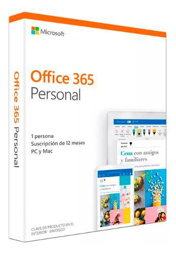 Office 365 personal 2019 spanish
