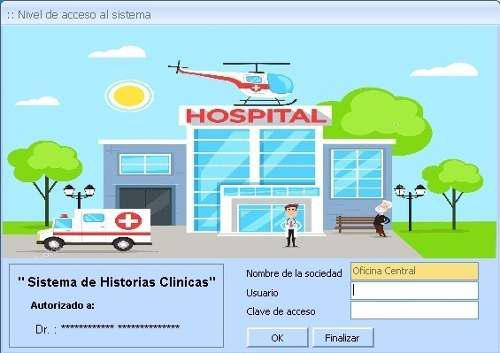 Software de historias clinicas