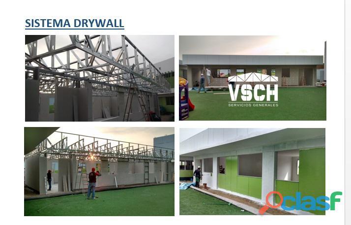 Estructuras metálicas y drywall