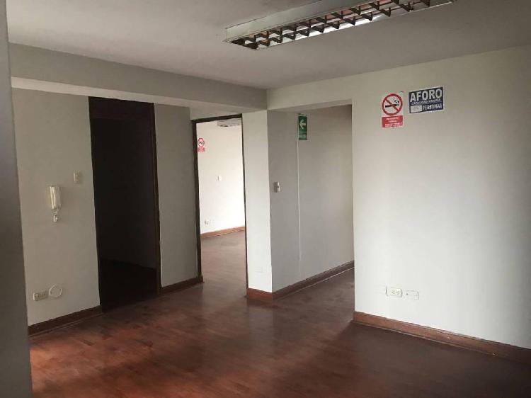 Alquiler funcional oficina | excelente ubicación | corazón