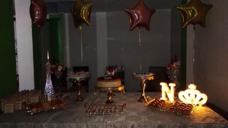 Alquiler de accesorios para fiesta
