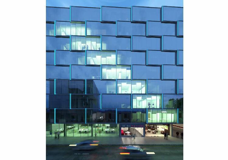 Alquilo moderna oficina de 376 m² en zona empresarial de