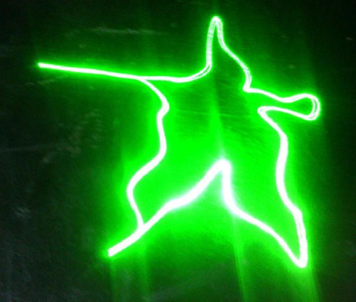 Proyector de figuras luces sicodelicas efecto láser led dj
