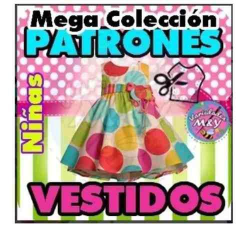 Vestidos y ropa para niñas patrones moldes imprimibles_pe