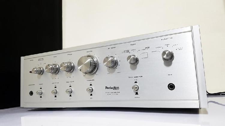 Amplificador perfection con multiples entradas / no tecnics