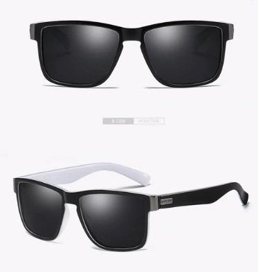 Gafas De Sol Vintage Espejo Cuadrados Para Hombres