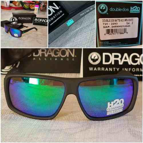 Lentes de sol dragon alliance double dos h2o flotable agua