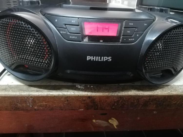 Radio philips, con cd mp3, entrada usb