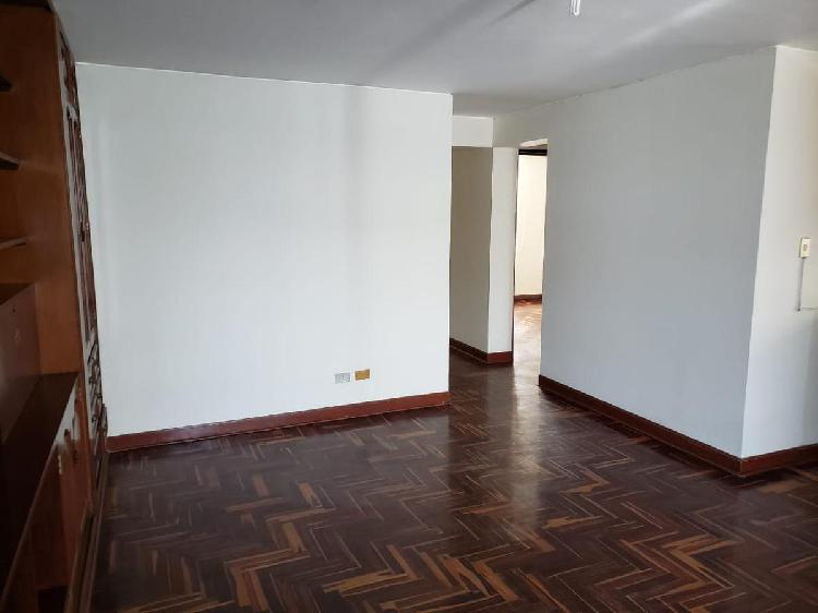 Departamento en alquiler san borja norte 2do piso
