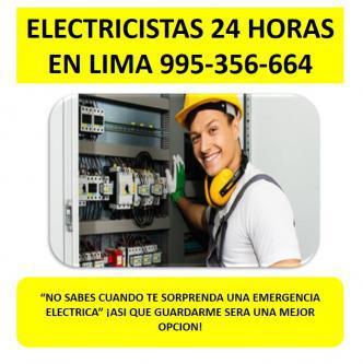 Fugas electricas lima