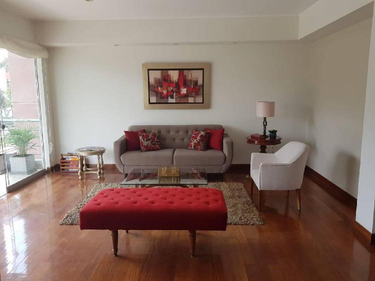 Lindo departamento amoblado en alquiler, segundo piso id