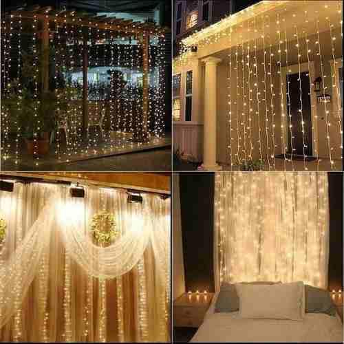 Luces led modelo cortina para eventos