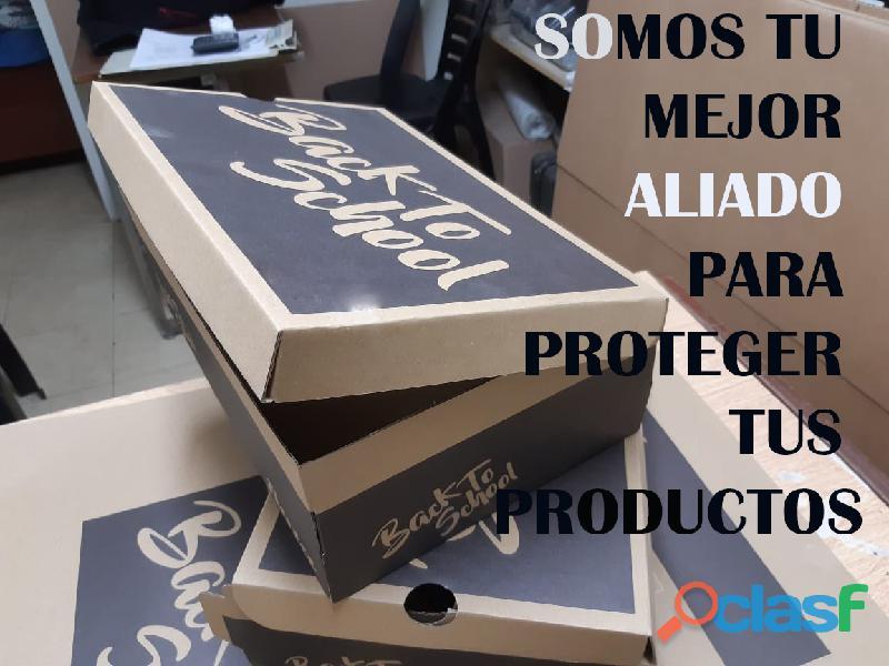 Cajas de carton para zapatos, zapatillas 1