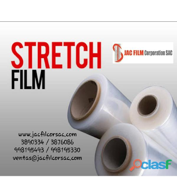 Strech film stretch film por mayor y menor, precio de fabrica .