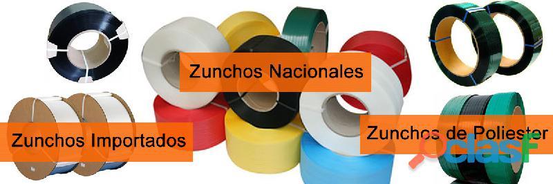 Zunchos nacionales e importados  maquinas enzunchadoras