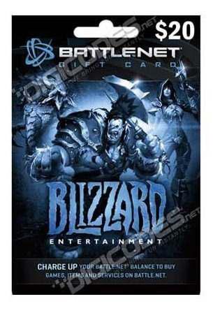 Battlenet Gift Card 20 Dolares Blizzard Digital