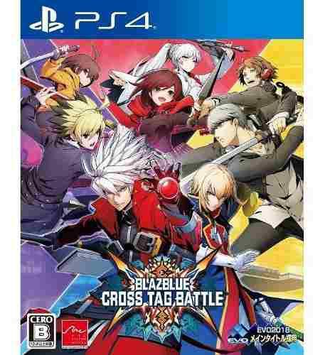 Ps4 Blazblue Cross Tag Battle Playstation 4 Nuevo