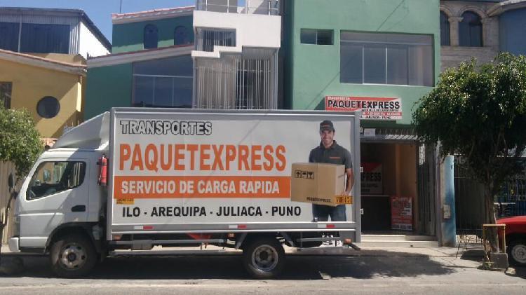 Servicio de carga local y nacional
