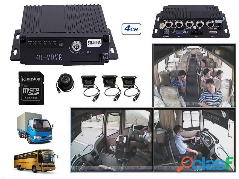 Mdvr movil camaras ahd 720p bus auto camion omnibus dvr