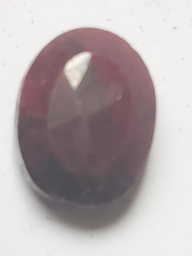 Piedra rubí rojo opaco africano sangre natural 15.5ct. n