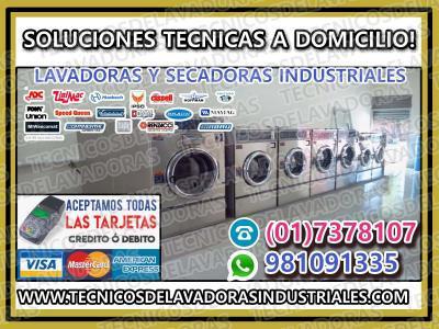 Servicio tecnico lavadoras indutriales speed quen 998766083