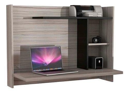 Escritorio flotante de melamina + instalación, mueble