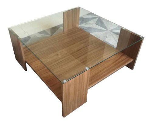 Mesa de centro, mesa de melamina, mueble de sala