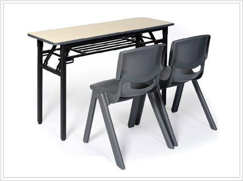 Mesa de trabajo plegable nueva - tablero melamina