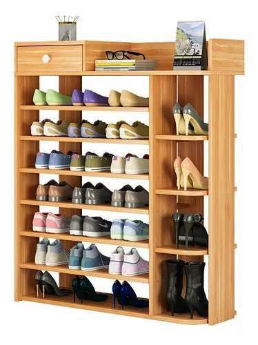 Zapatera moderna, mueble de melamina, organizador p/ zapatos
