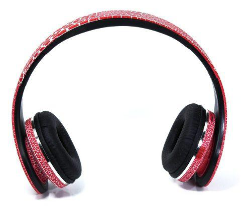 Auricular bluetooth stereo headphones wireless con luz led