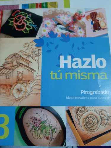 Manual De Pirograbado - 10 Diseños.