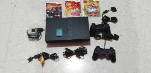 Playstation 2 fat original americano estado 9 de 10