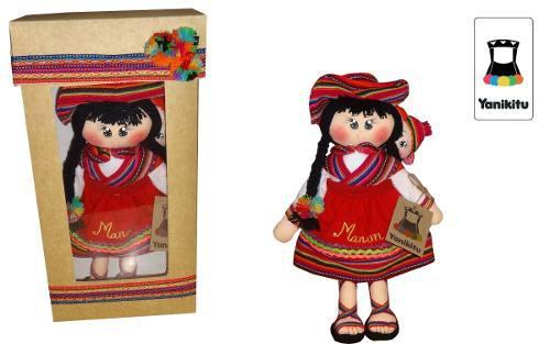 Regalos Personalizados Muñeca Artesania Yanikitu Navidad