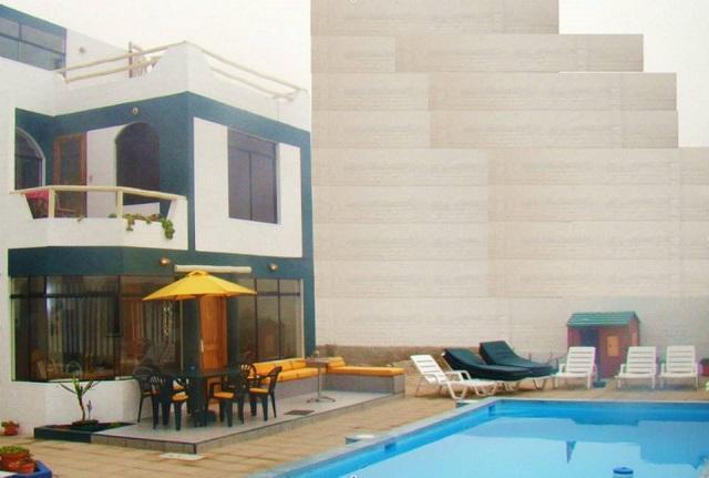 Alquiler casa 7 dorm., con piscina, playa peñascal san