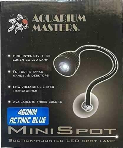Aquarium masters actinic blue mini spot lamp