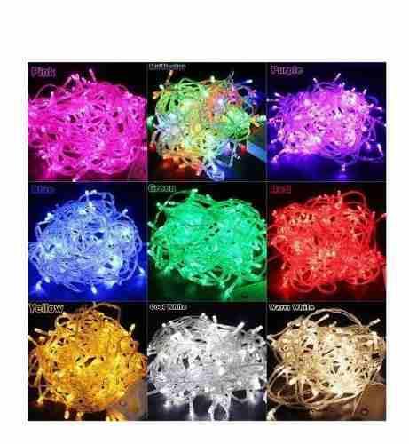 Luces led lineales navideñas 100/200/300/400/500/600 luces
