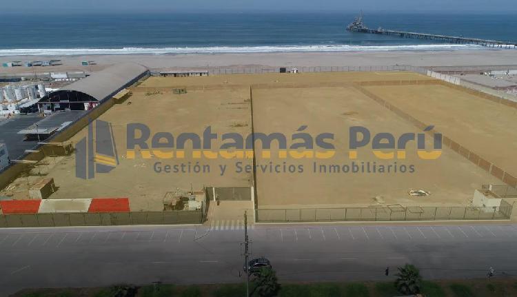 Amplio terreno industrial de 10,000 m² - km 24.5