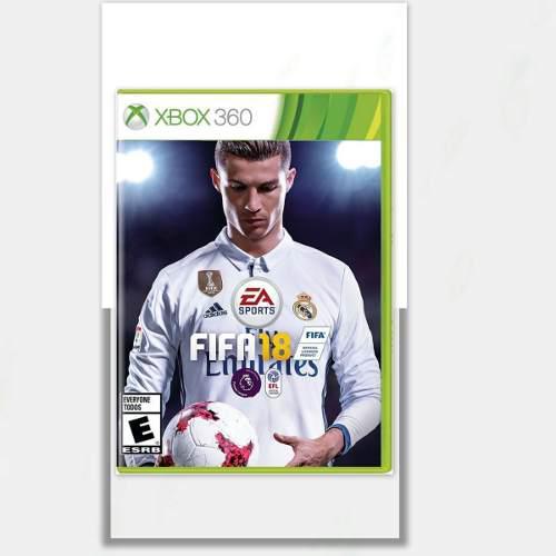 Fifa 18 juego xbox 360 totalmente original + oferta