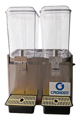 Máquina refresquera 2 tolvas 18 litros grondoy nueva tienda