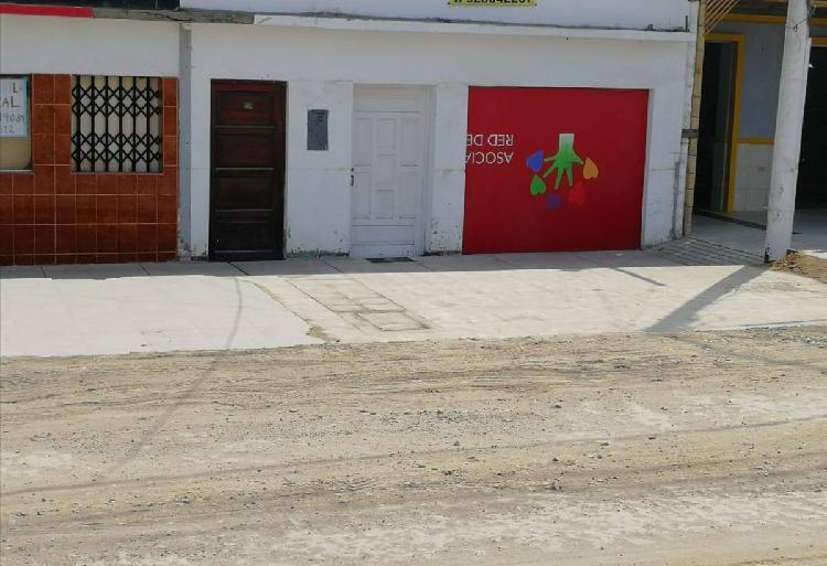 Alquilo amplio local u casa en plena panamericana