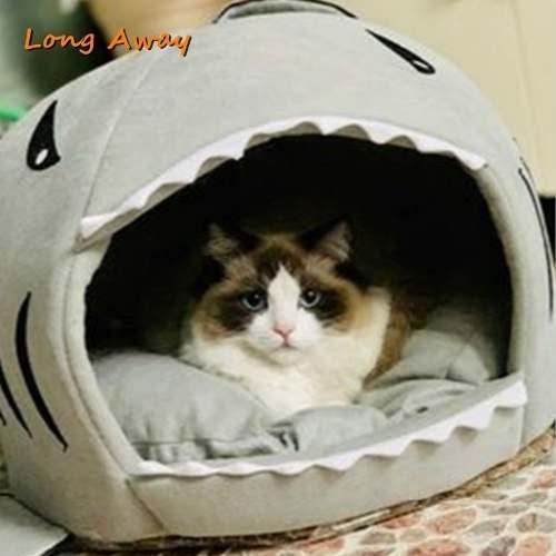 Casa cama para mascotas del hogar gato perros animales peq