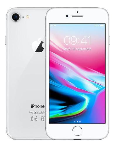 Iphone 8 64gb silver blanco nuevo sellado tienda garantía