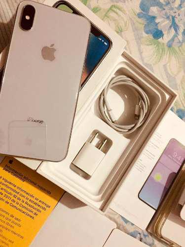 Iphone x 64gb impecable libre de todo en caja 9/10 blanco