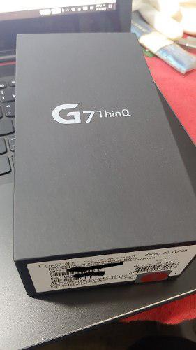 Lg g7 thinq 64gb - boleta - 1 año gar nuevo en caja sellada